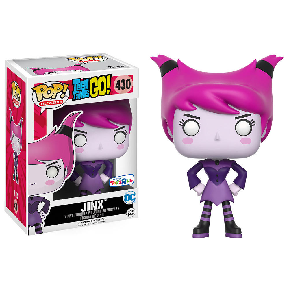 Teen Titans Go Jinx Now Available At Toysrus Com