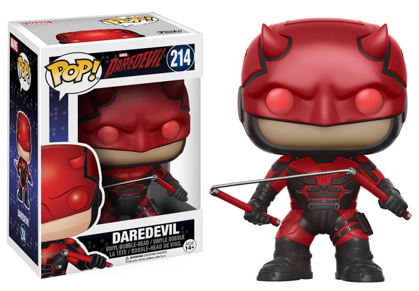 Jessica Jones And Daredevil Season 2 Pop Vinyls