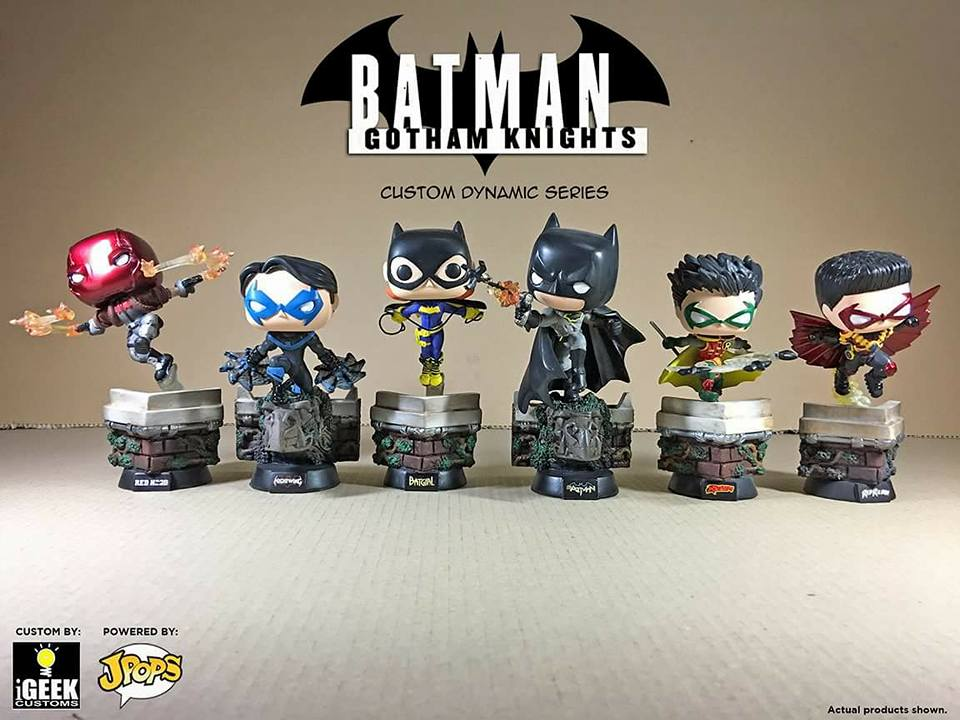 Custom Corner: Bat Family in Action