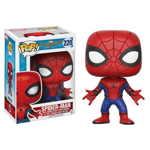 Pre Order Spider Man Homecoming Pop Vinyls And More