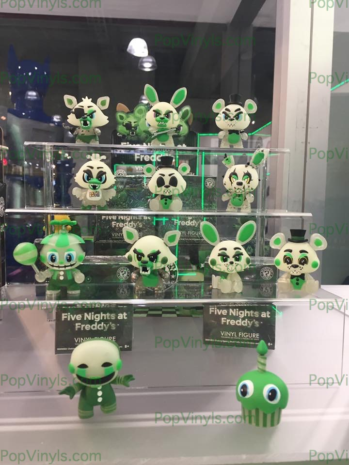 #five nights at freddys #pop #funko #toy fair 2017 #balloon boy #mangle #foxy #Freddy #bonnie #chika