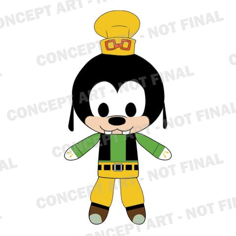 #Kingdom Hearts #Funko #Goofy #Plush #toy fair 2017