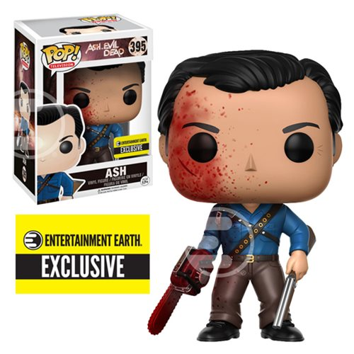 Bloody Ash Pop Vinyl Exclusive From Entertainment Earth