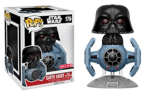 Darth Vader and Tie Fighter Pop Vinyl Coming to Target in ...