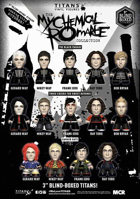Join The Black Parade With Titan Merchandise My Chemical