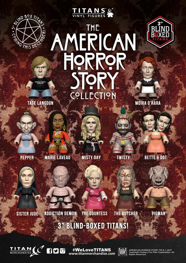 American Horror Story Comes To Titan Merchandise