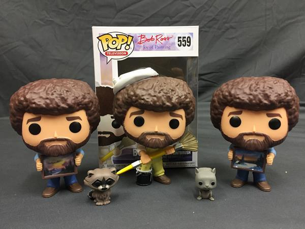 Pop Review Funko S Bob Ross Series 2 Collection
