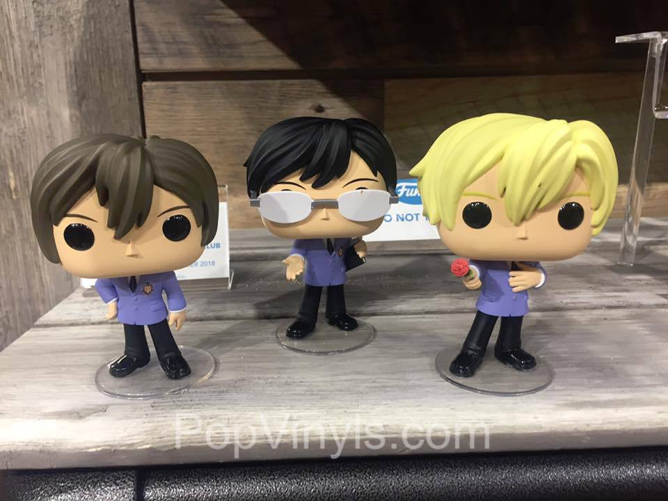 Popvinyls At Toy Fair Gossip Girl And Ouran Host Club