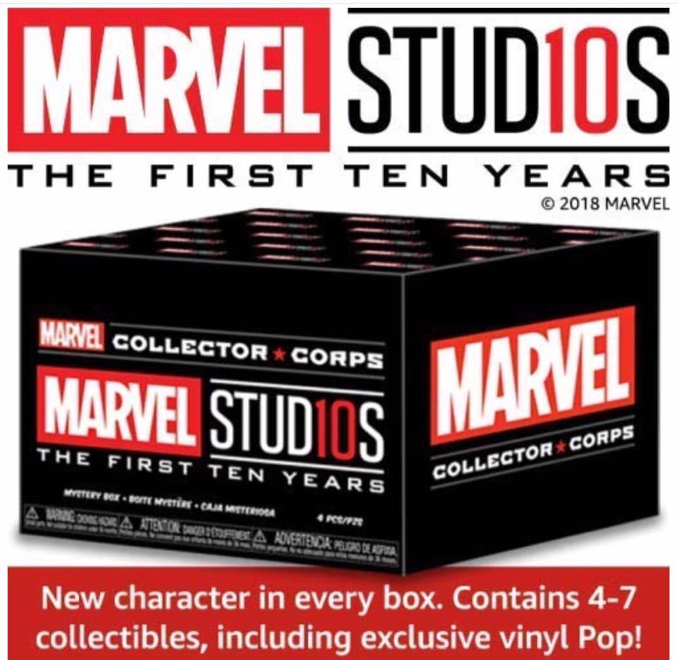 The Next Marvel Collector Corps Box Theme Is Marvel