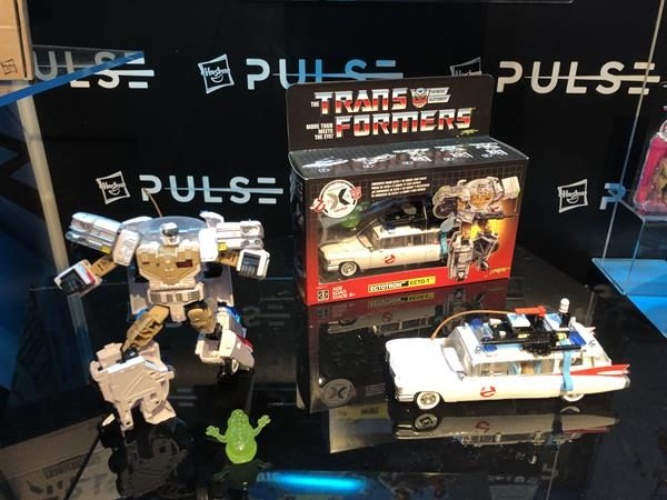 Toy Fair Highlight Transformers X Ghostbusters Ectotron