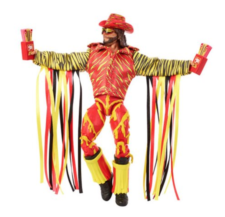 Macho Man Randy Savage Slim Jim Elite Figure Preorders
