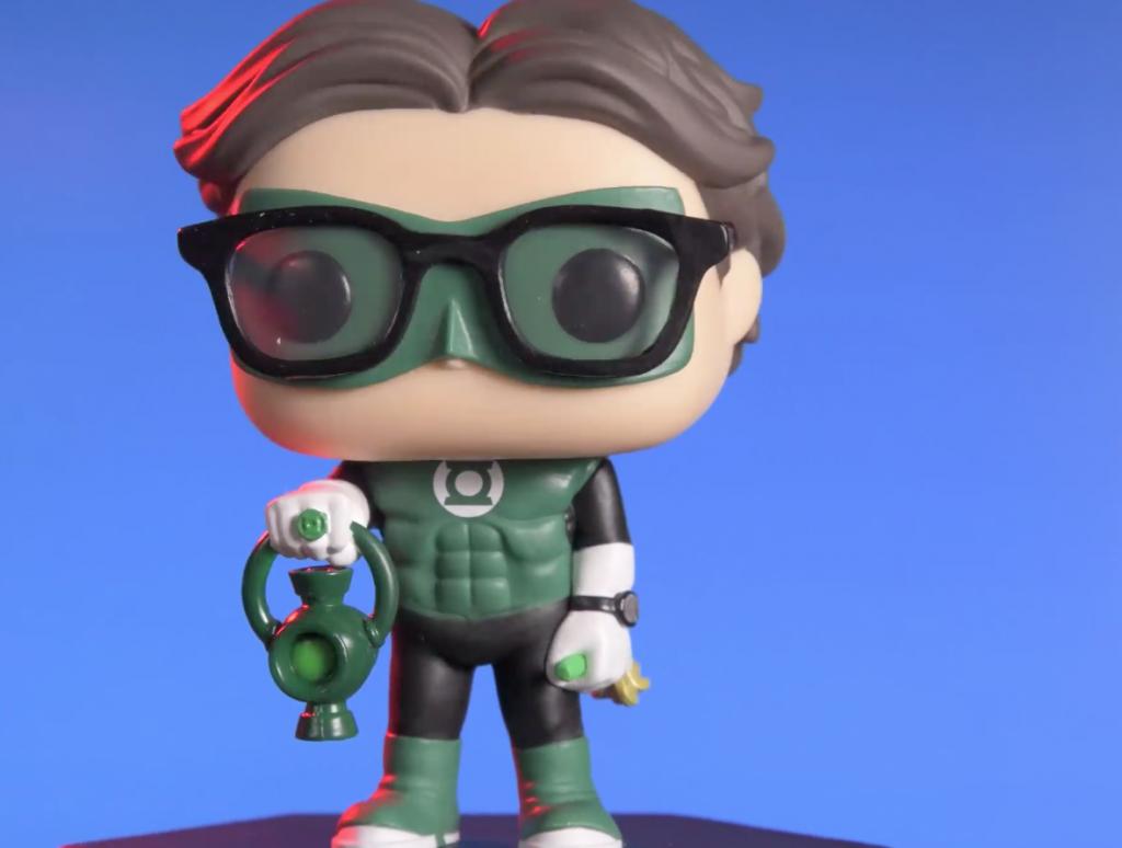 The Big Bang Theory Pop! Leonard Green Lantern Funko