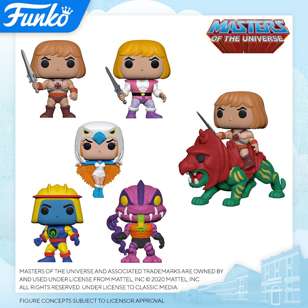 Funko London Toy Fair Reveals 16 Masters Of The Universe