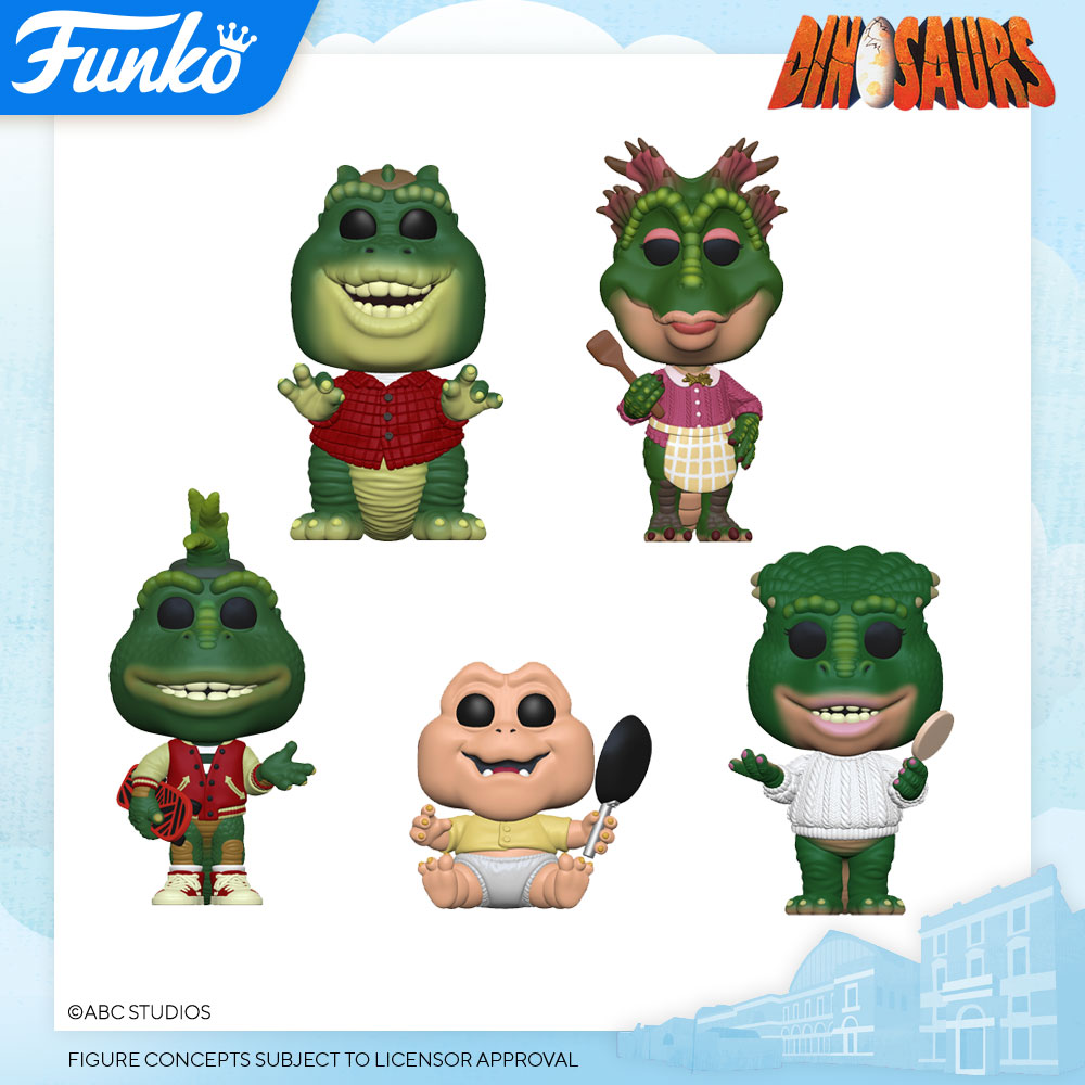 Funko London Toy Fair Reveals 19 Dinosaurs Popvinyls Com