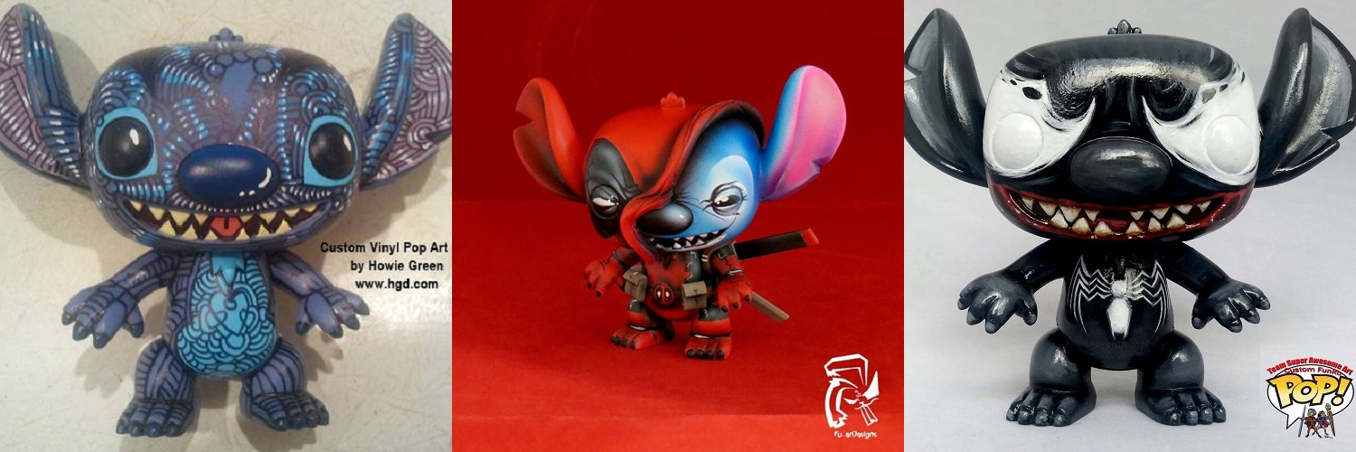 Custom Corner Stitch Triple Feature Popvinyls Com