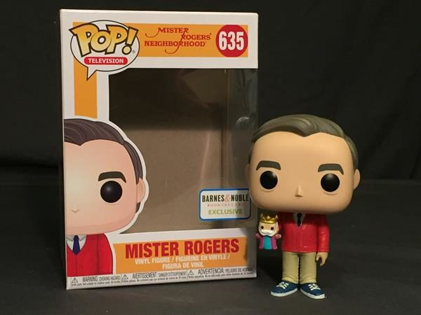 Pop Review Mister Rogers W King Friday B N Exclusive Popvinyls Com